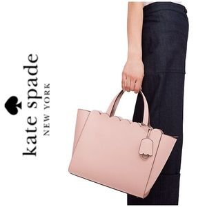 NWT Kate Spade genuine leather crossbody satchel